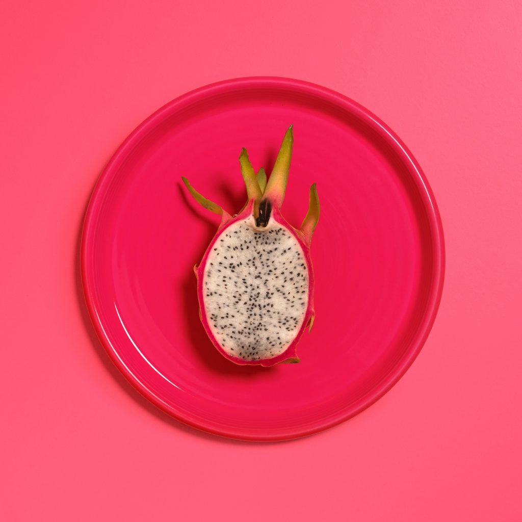 Slow food Pitaya ou fruit du dragon