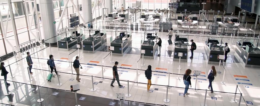 Protocoles covid19 aéroport
