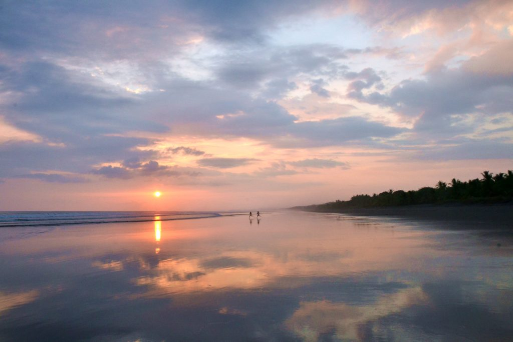 Sunset Dominical Costa Rica