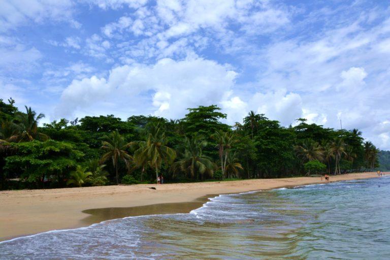 Plage de Punta Uva Caraibe sud Costa Rica