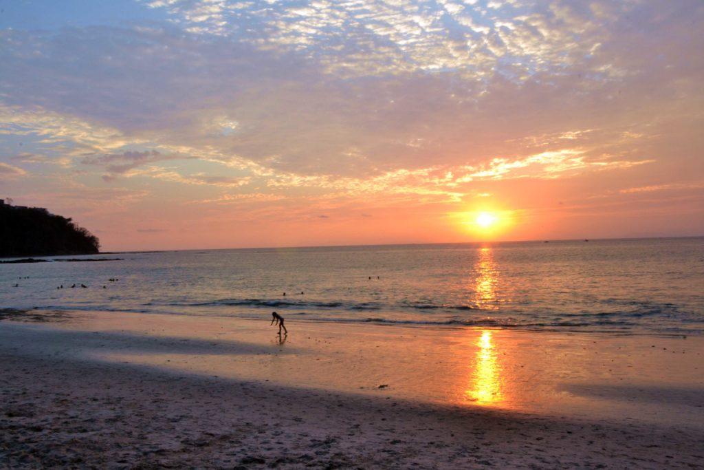 Coucher du soleil Punta Leona Playa Blanca