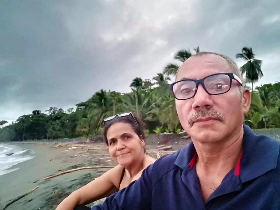 Ricardo et Rita plage de Gandoca