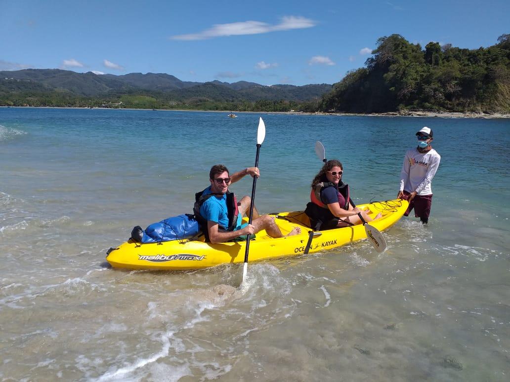 Kayal et snorkeling à Samara