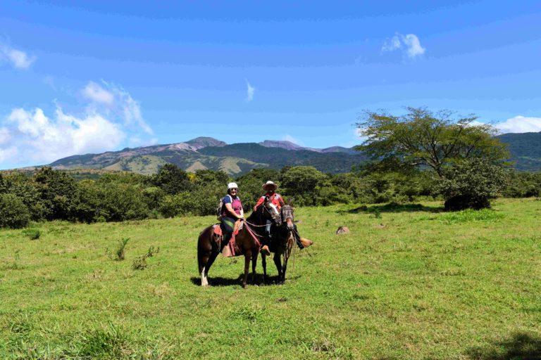 Balade à cheval Volcan Rincon de la Vieja