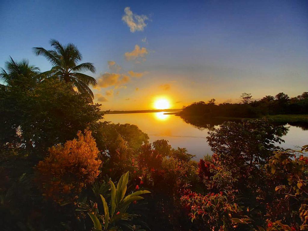 Lever du soleil Rio Indio Lodge